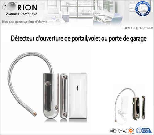 Tous nos accessoires alarme orion for Digicode sans fil pour porte de garage