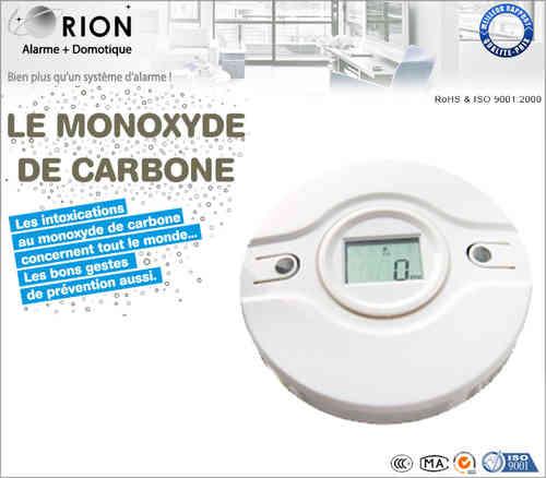 Tous nos accessoires alarme orion - Monoxyde de carbone detecteur ...